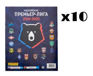 10-x soccer stickers panini RPL-2019-20